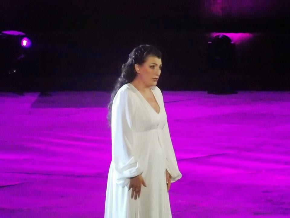 Arena di verona 2014 lo spettacolo sta per iniziare ieri oggi domani opera - Casta diva san giovanni lupatoto ...