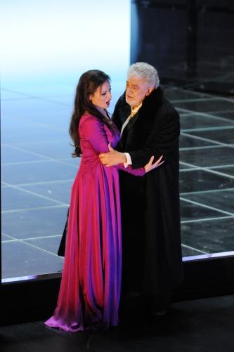 Con Plaicido Domingo. SImon Boccanegra, Gran Teatre del Liceu © A Bofill