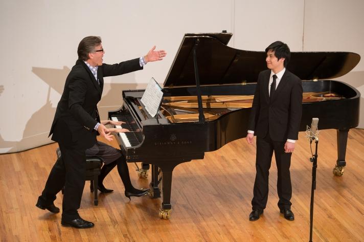 Thomas Hampson Distance Learning Masterclass at Manhattan School of Music
